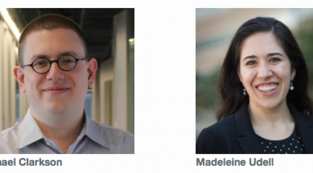 Data Science for All professors Michael Clarkson and Madeleine Udell.